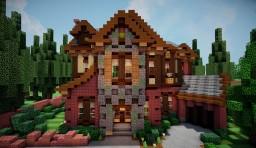 Tudor Revival Home Minecraft Project