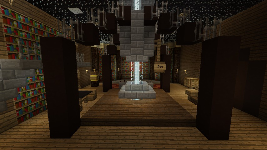 Doctor Who: Victorian Parlour TARDIS Schematic Minecraft Project