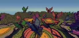 Valley of Colours | 25th Project Special Minecraft Project