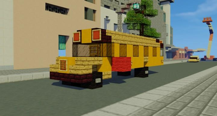School Bus Minecraft Project - Minecraft bus spiele