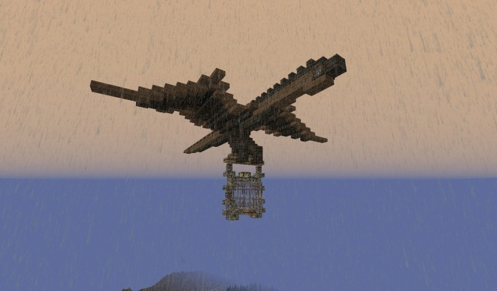Dragon with cage