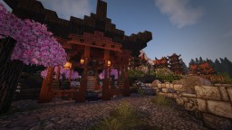 Japanese Mountainvillage (still in a early stage) Minecraft Project
