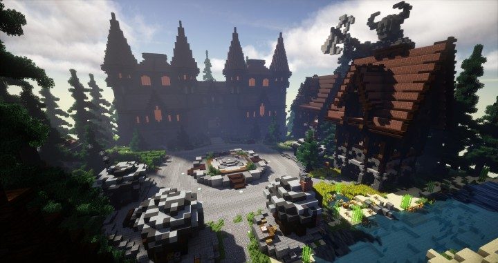Ascalter Lobby Minecraft Project