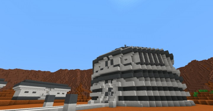 The Red Planet - Mars Solo Build Contest Minecraft Project