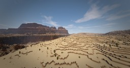 RPG Map - Mesa Canyons Minecraft