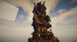 Steampunk-House #3 Minecraft Map & Project