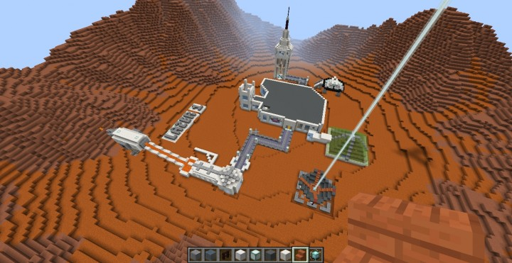 mars base minecraft - 720×371