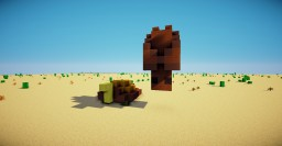 Bat And Tortoise - Pixel Art 3D