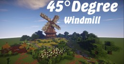 Medieval Diagonal Windmill [WITH DOWNLOAD] Minecraft