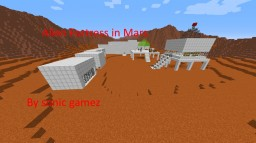 Alien Fortress in Mars Minecraft Map & Project