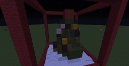 Christmas ADVENTure 2015 build - Tree with color changing top. Minecraft Map & Project