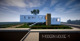 Minimalist House Minecraft Project