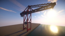 Container Crane Minecraft Map & Project