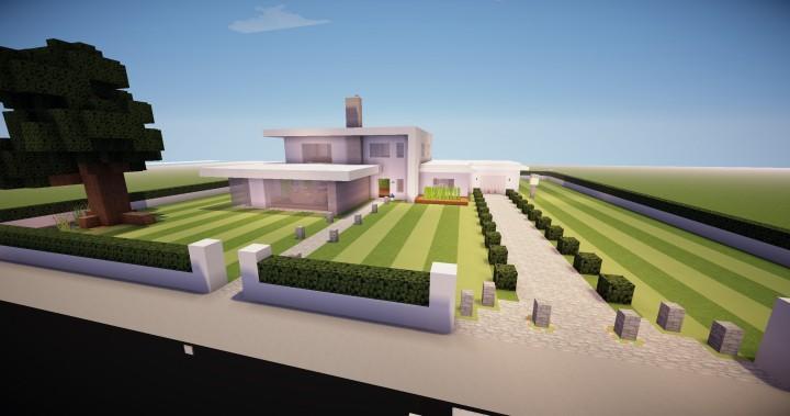 Maison Moderne 1 0 Minecraft Map