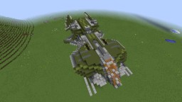 Minecraft Halo AC-220 Gunship (Vulture) Minecraft Project