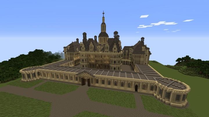 Castle of cambord ch teau de chambord minecraft project - Chateau de minecraft ...