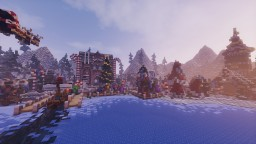 Christmas Valley + DOWNLOAD Minecraft Map & Project