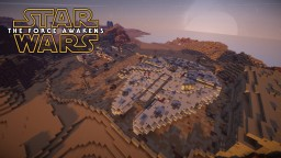 -=Star Wars Force Awakens: Tatooine Troubles=- [2 Player CTM Scavenger Hunt Map] Minecraft