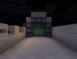 3 x 3 Piston Door Minecraft Map & Project
