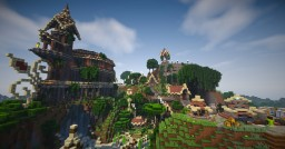 Dunael - Elven City [Timelapse + Download] Minecraft Map & Project