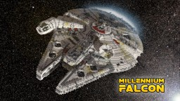 Star Wars Millennium Falcon Minecraft Map & Project