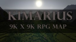 RPG Map- Kimarius 9k x 9k Minecraft