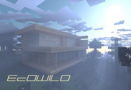 EcOWILD - Modern House Minecraft Map & Project
