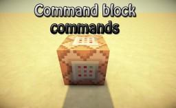 A lot of commands :D Minecraft Blog