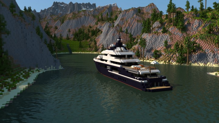 Equanimity Superyacht 1 1 Scale Minecraft Project