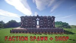Small Faction Spawn + Shop - Brick/Quartz Themed