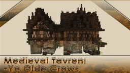 Medieval Tavren - Ye Olde Crows - Schematic Download Minecraft