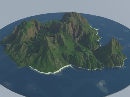 fantasy jurassic isle Minecraft Project