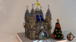 🎄  Christmas Church  🎄 Minecraft Project