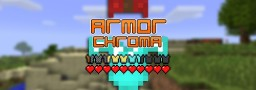 [1.12.2] Armor Chroma 1.3 - For a more colorful armor bar! Minecraft Mod
