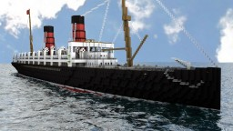 RMS Lucania Minecraft Map & Project
