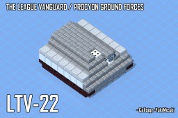 LTV-22 Armored Personnel Carrier Minecraft Map & Project