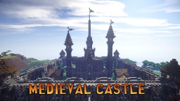 Medieval Castle Spawn Minecraft Project