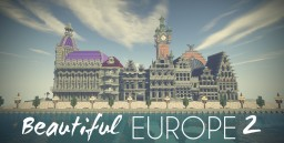 Beautiful Europe, 1900 (2) Minecraft Project