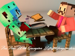 Tea Time With Grampton Beffufftlefumptinshire #3 Interview with Dinosisterlany Minecraft Blog Post