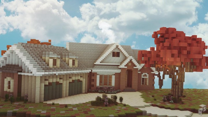 European Traditional House [Collab] Minecraft Project - photo#19