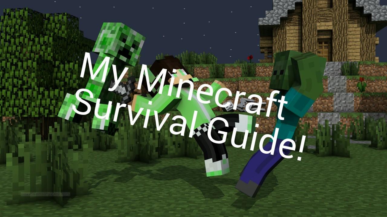 Minecraft Survival Guide Contest Entry Creeper
