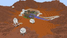 Sustainable mars base (for life on mars solo build contest) Minecraft Map & Project