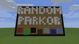 Random Parkour Minecraft Project
