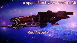 Red Nebula - Spaceship build Minecraft