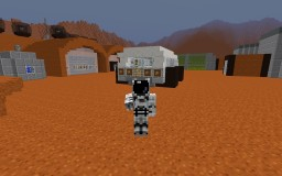 Life on Mars - MartyMunch's Settlement *Map Now Available Minecraft
