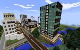 Urban Mixed-Use City and Suburbs (MAP COMING SOON) Minecraft Map & Project
