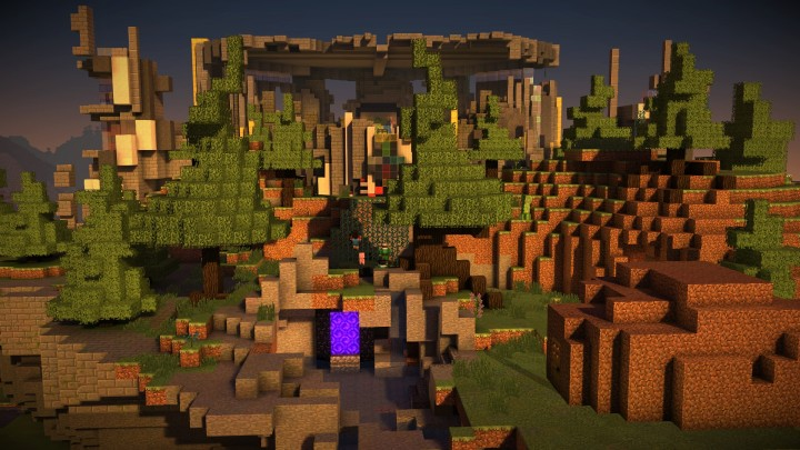 Minecraft Story mode map - 1 8 Minecraft Project