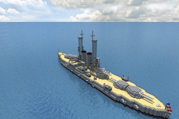 Images Of Pearl Harbor Day >> USS Utah (BB-31) Minecraft Project