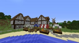 Dimford Island - little medieval island project Minecraft Map & Project