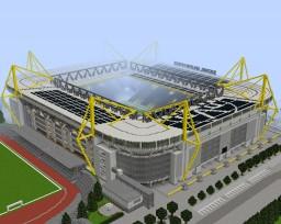 Borussia Dortmund Signal Iduna Park Minecraft Map & Project